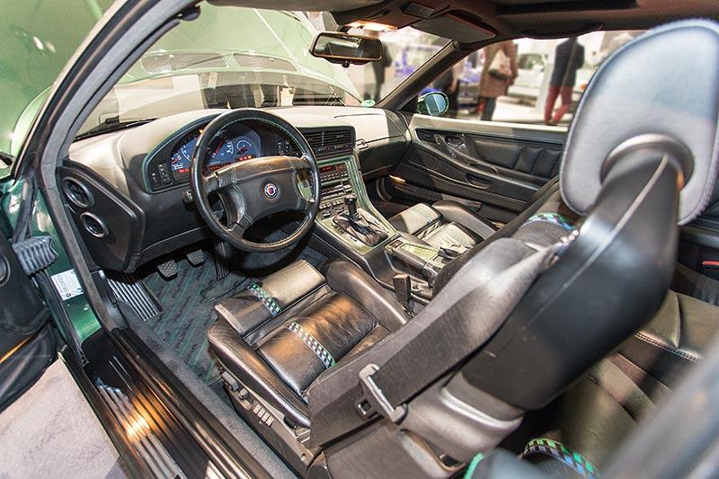 BMW Alpina B12 5,7, Blick in den Innenraum