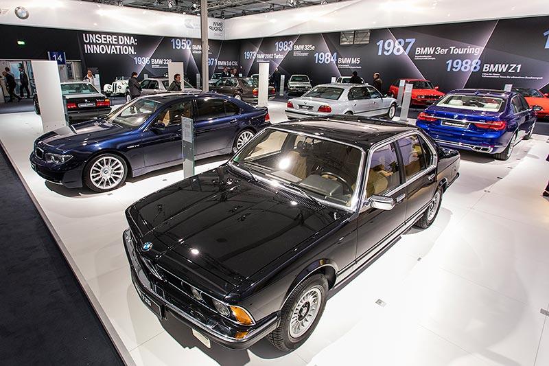 BMW 733i (E23), zu Beginn der Baureihe das Topmodell