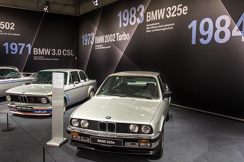 BMW 325e, das 'e' in der Typbezeichnung steht für besondere Effizienz