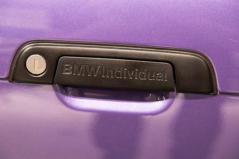 BMW 325i Coupé Individual, Individual Schriftzug auf dem Türgriff