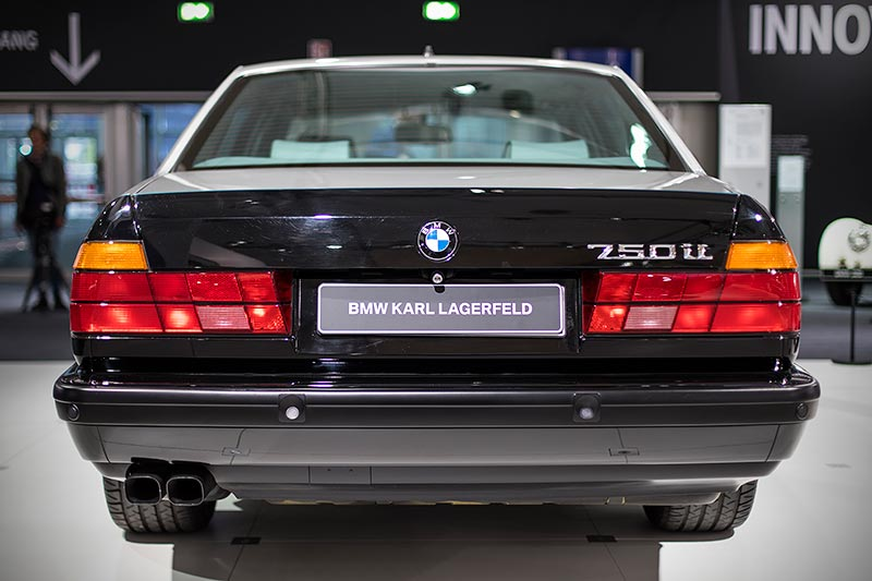 BMW 750iL (E32) by Karl Lagerfeld, mit V12-Motor, 300 PS