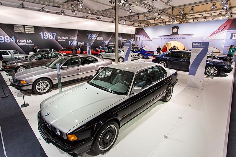 BMW 750iL (E32) by Karl Lagerfeld, ausgestellt auf der Techno Classica 2017 in Essen