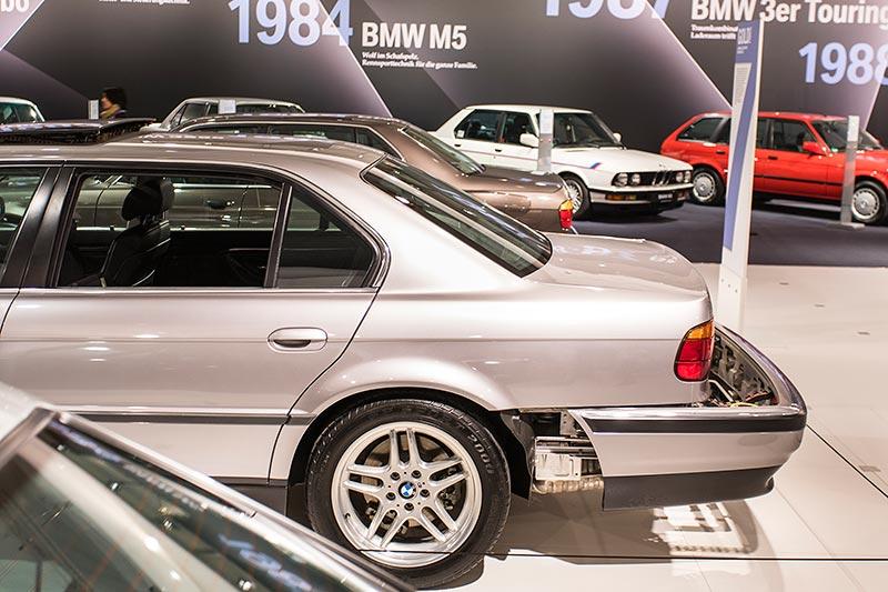 BMW 750iL (E38) James Bond, ausgestellt auf der Techno Classica 2017