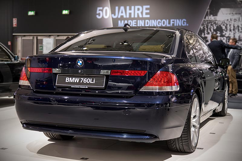 BMW 760Li (E66), ehemaliger Neupreis: 116.000 Euro