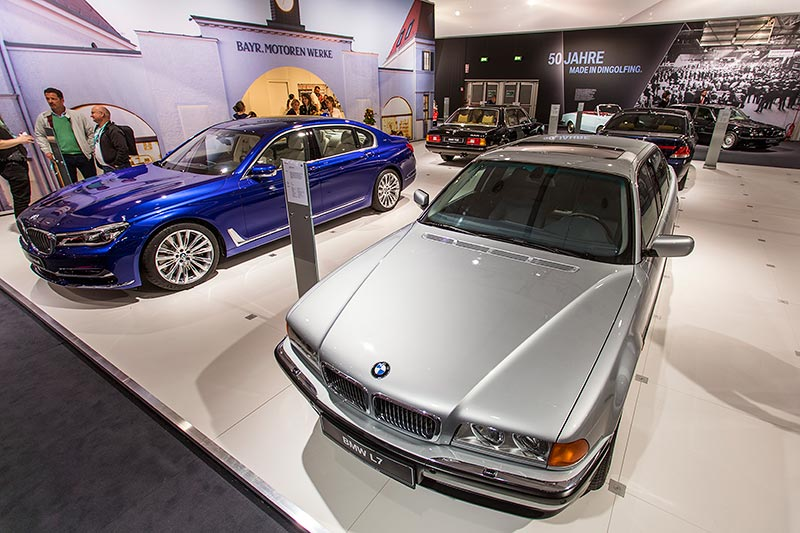 BMW L7 (E38/L7), ausgestellt auf der Techno Classica 2017