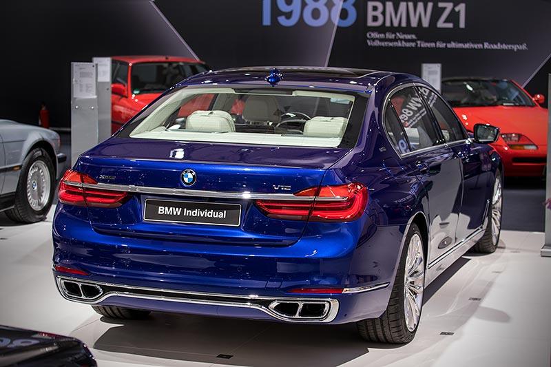 BMW M760Li xDrive Excellence Individual, mit BiTurbo V12-Motor, 610 PS