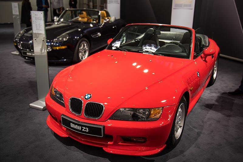 BMW Z3, Baujahr: 1995, ehemaliger Neupreis: 43.700 DM