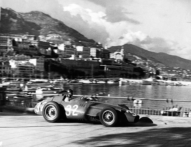 Maserati 250F von Manuel Fangio in Monte Carlo, zu sehen in der F1-Sonderschau auf der TC 2017