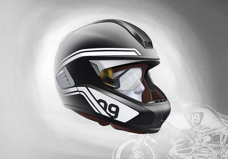 BMW Vision Ride Helmet by Designworks