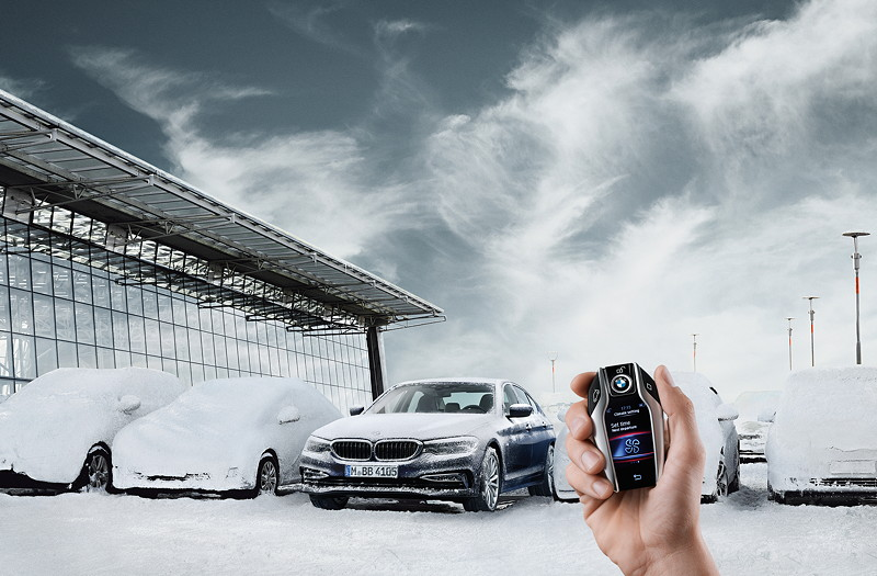 Die BMW 5er Limousine Standheizung