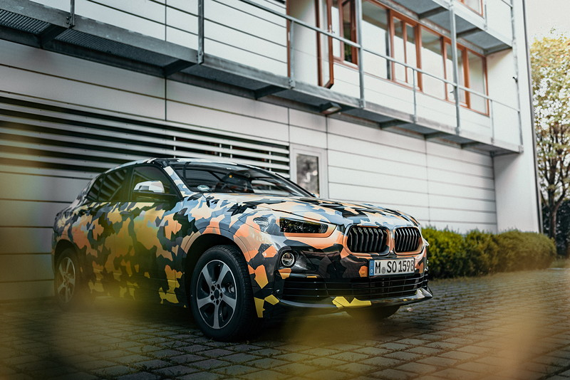 Expedition im 'Urban Jungle' für den neuen BMW X2