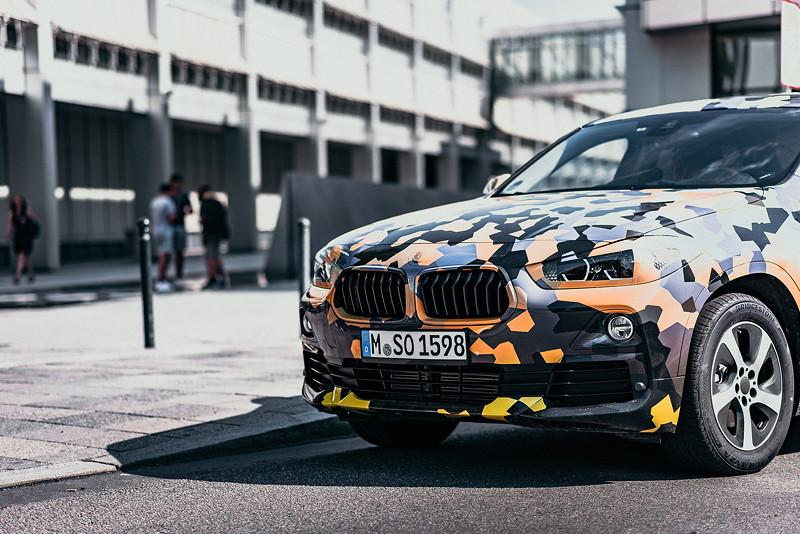 Expedition im 'Urban Jungle' für den neuen BMW X2
