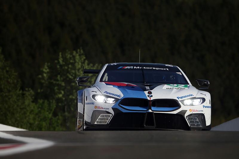 Spa- Francorchamps (BEL), 3. Mai 2018. BMW Motorsport, FIA WEC 6 Stunden von Spa- Francorchamps, BMW M8 GTE Nr. 82.