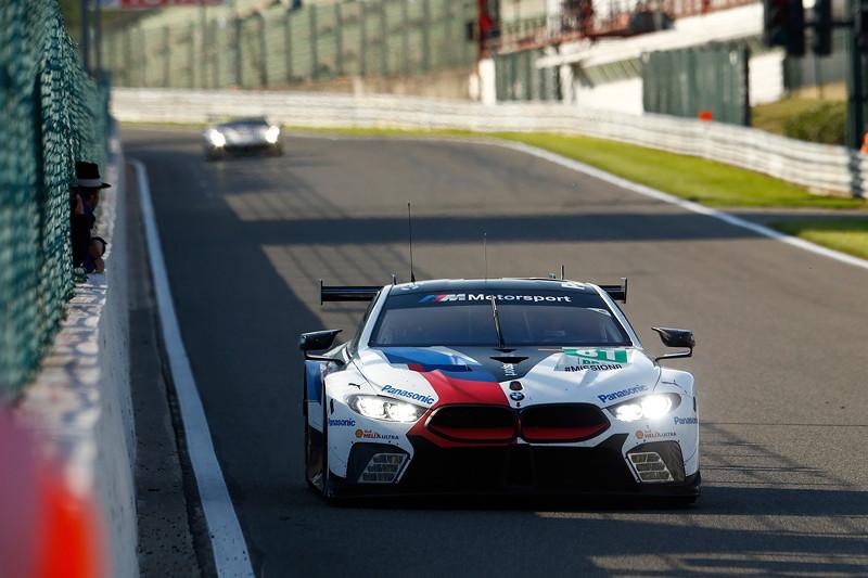 Spa- Francorchamps (BEL), 4. Mai 2018. BMW Motorsport, FIA WEC 6 Stunden von Spa- Francorchamps, BMW M8 GTE No. 81.