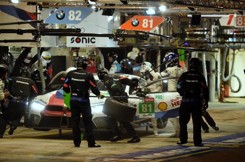 Le Mans (FRA), 17. Juni 2018. BMW M Motorsport, FIA World Endurance Championship (WEC), 24 Stunden von Le Mans.