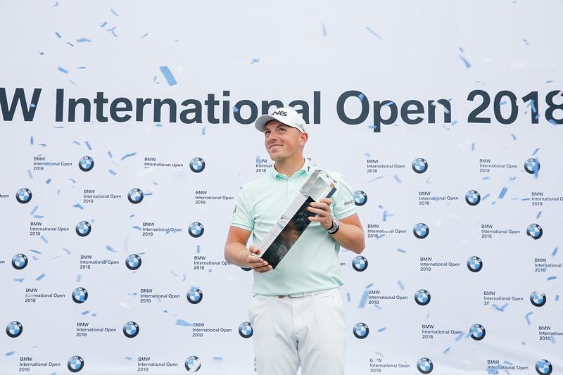 24. Juni 2018, 30. BMW International Open, Matt Wallace, Gewinner der 30. BMW International Open