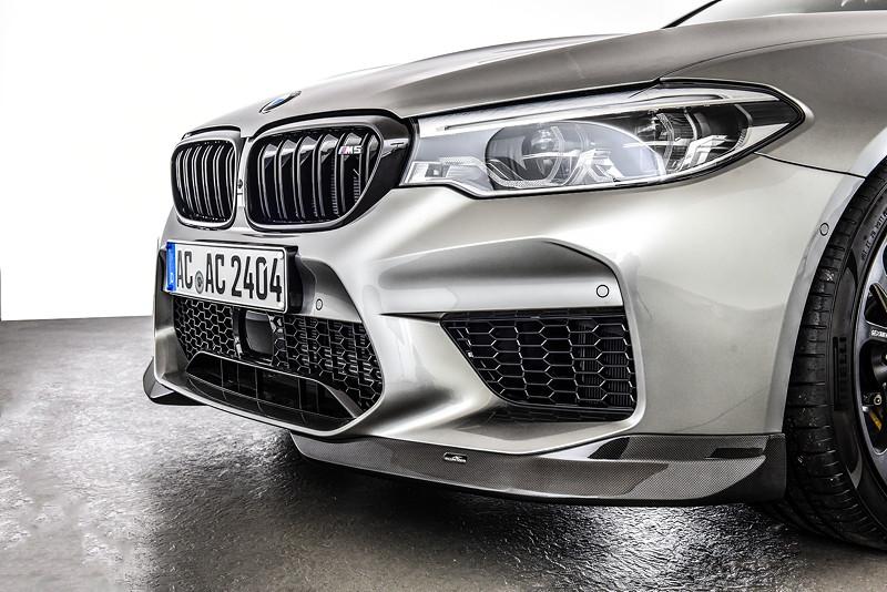 BMW M5 by AC Schnitzer mit Carbon Frontspoilerelementen ohne Frontsplitter