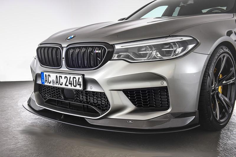 BMW M5 by AC Schnitzer mit Carbon Frontspoilerelementen inkl. Frontsplitter