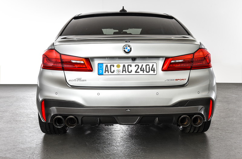 BMW M5 by AC Schnitzer mit AC Schnitzer Heckspoiler und Carbon Heckdiffusor