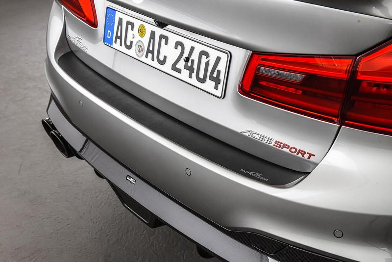 BMW M5 by AC Schnitzer mit AC Schnitzer Ladekantenschutz