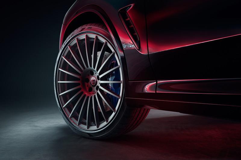 BMW Alpina XD4, ALPINA CLASSIC 22 Zoll Schmiederad