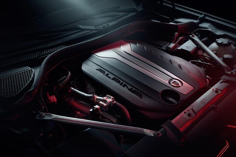 BMW Alpina XD4, Motor