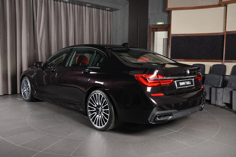 BMW 730Li (G12), verbraucht einen Liter weniger Benzin als der BMW 740Li.