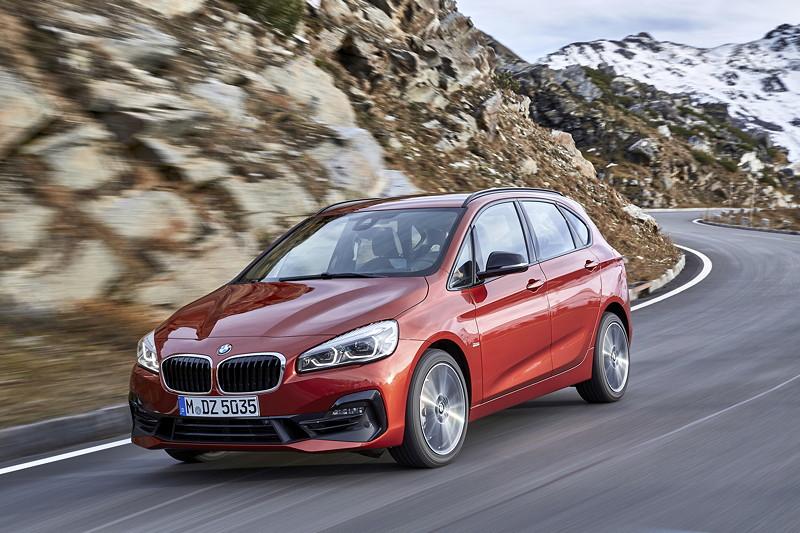 Der neue BMW 2er Active Tourer und der neue BMW 2er Gran Tourer.