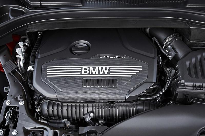 BMW 2er Active Tourer, zum Facelift 2018 mit umfangreichen Modifikationen zur Effizienzsteigerung.