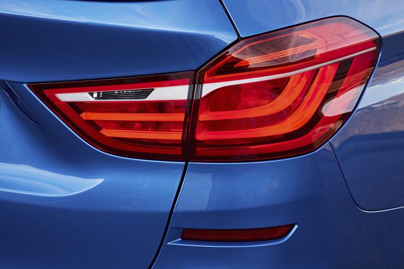 BMW 2er Gran Tourer (Facelift 2018), Rücklicht.