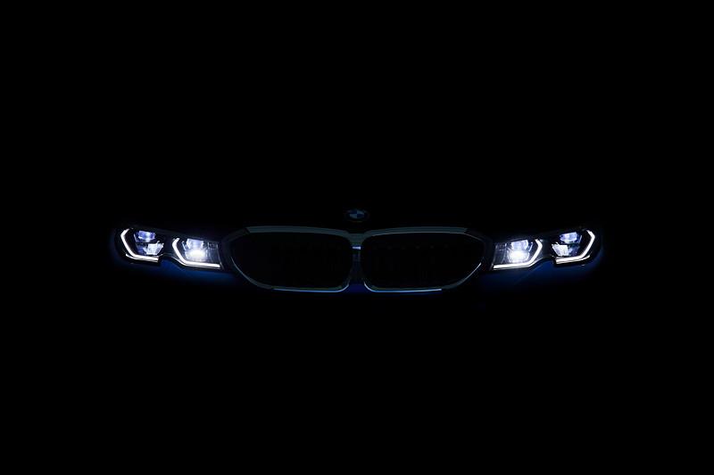 Die neue BMW 3er Limousine - Licht