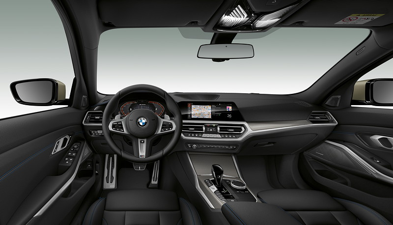BMW M340i xDrive Limousine, Innenraum vorne