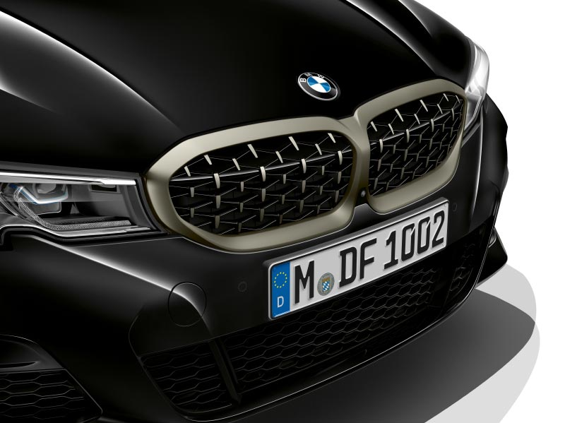 BMW 340i xDrive Limousine mit markant gestylter Niere