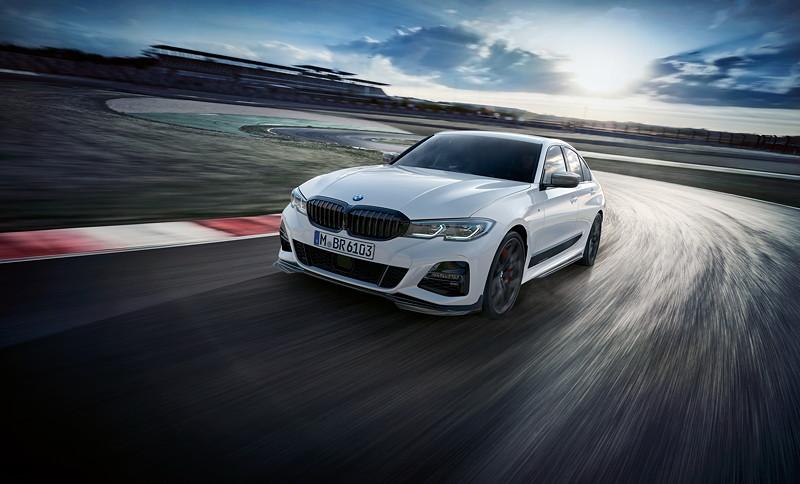 BMW M Performance Parts für den neuen BMW 3er.