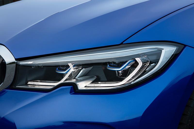 BMW 3er Limousine - Modell M Sport, Scheinwerfer