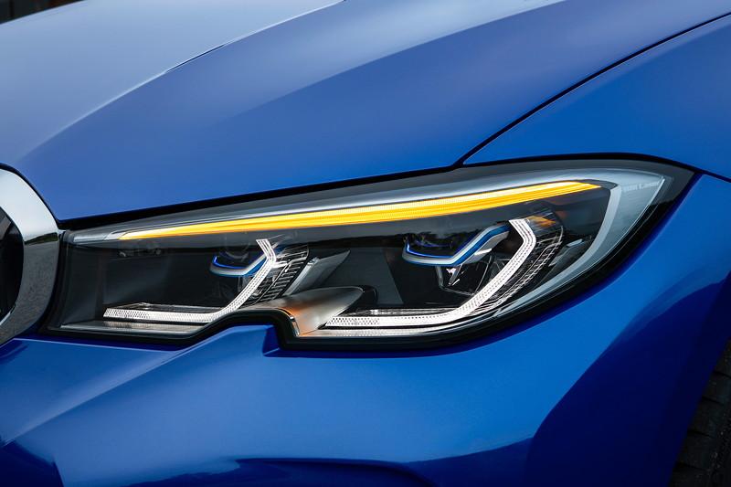 BMW 3er Limousine - Modell M Sport, Blinker