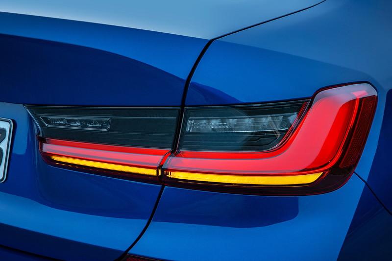 BMW 3er Limousine - Modell M Sport, Rücklicht
