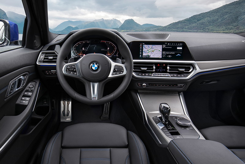 BMW 3er Limousine - Modell M Sport, Cockpit