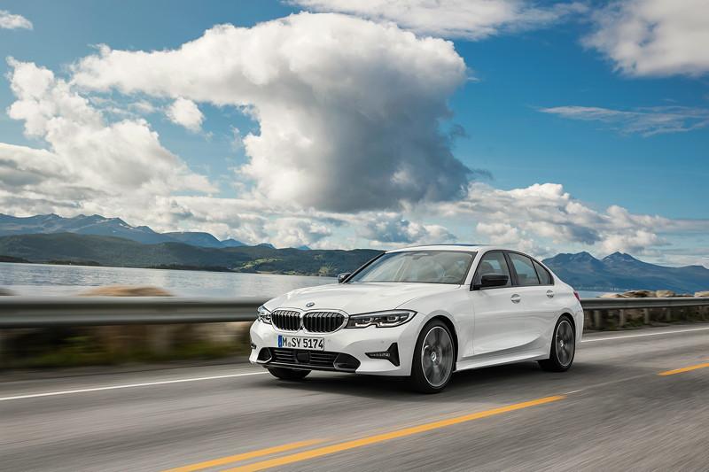 BMW 3er Limousine - Modell Sport Line