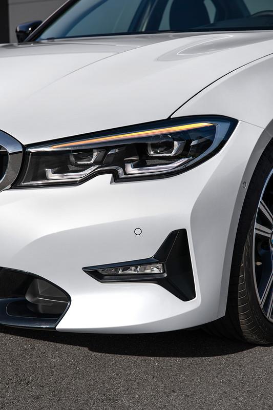BMW 3er Limousine - Modell Sport Line, Blinker