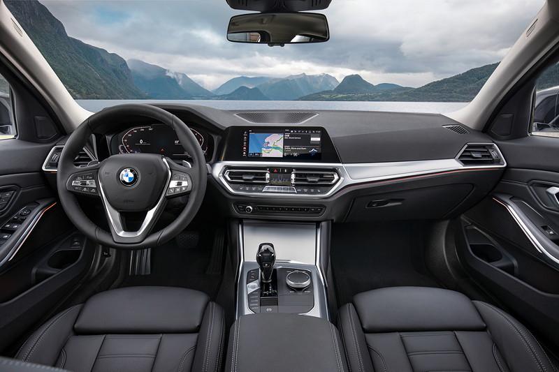 BMW 3er Limousine - Modell Sport Line, Interieur