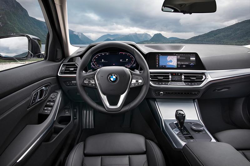 BMW 3er Limousine - Modell Sport Line, Cockpit