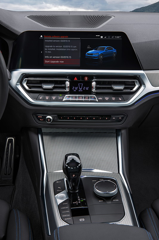 Die neue BMW 3er Limousine - Remote Software Upgrade
