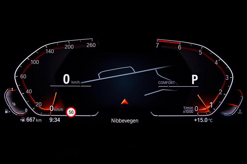 Die neue BMW 3er Limousine - BMW Operating System 7.0 Comfort Modus