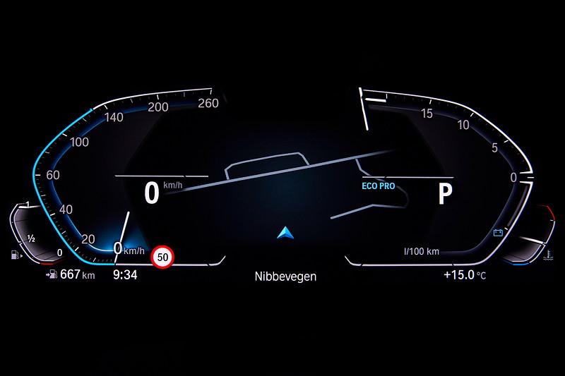 Die neue BMW 3er Limousine - BMW Operating System 7.0 Eco Pro Modus
