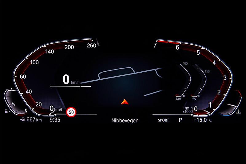 Die neue BMW 3er Limousine - BMW Operating System 7.0 Sport Modus