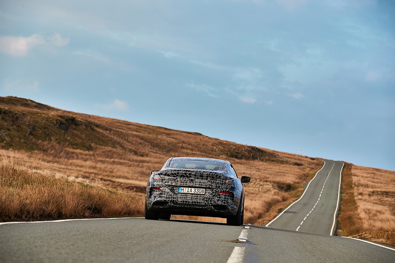 Erprobung des neuen BMW 8er Coupé