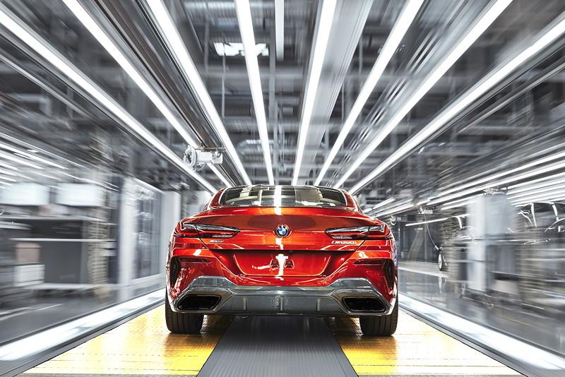 Das neue BMW 8er Coupé läuft im BMW Group Werk Dingolfing vom Band.