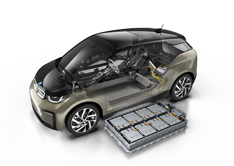 Der neue BMW i3 (120 Ah) - Technical Art.