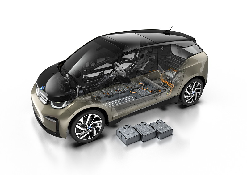 Der neue BMW i3 (120 Ah) - Technical Art.